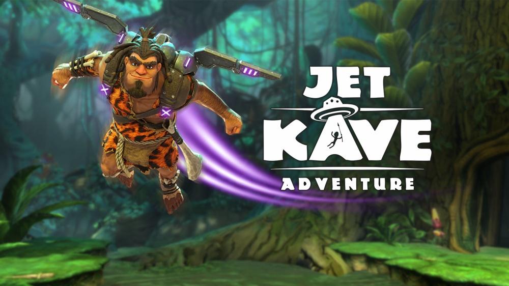 原始と未来の融合? 横スクロール型アクション「JET KAVE ADVENTURE(ジェットケイブアドベンチャー)」は良い暇潰しになりそう。