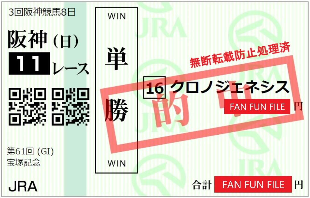 宝塚記念は単勝だけじゃなく枠連も的中! 無料予想動画のチャンネル登録はお忘れなく。