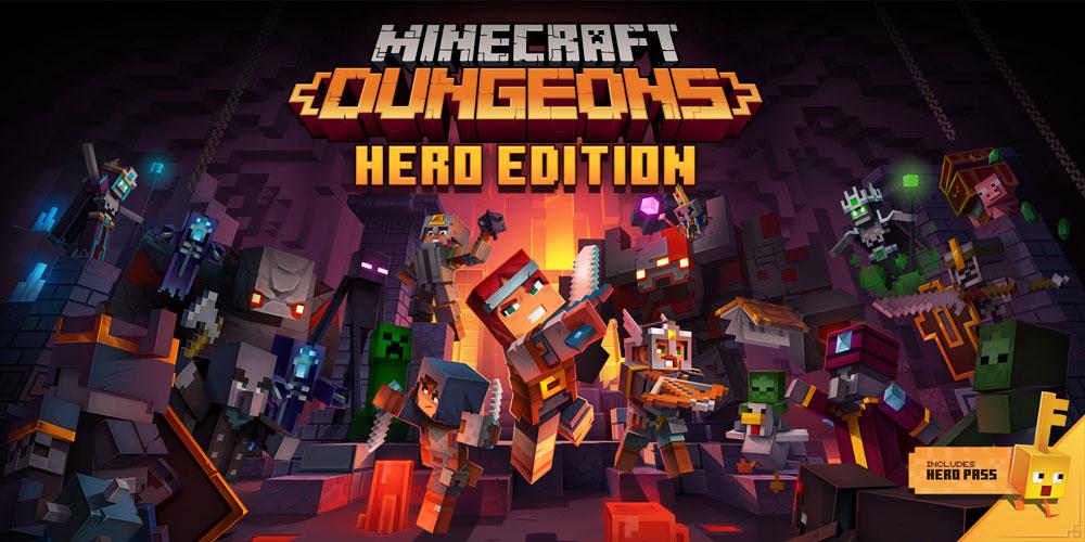 怒涛の攻勢に出たとしか思えない「Minecraft Dungeons」のDLC第2弾と、大幅アップデート! 攻略動画、アップします。