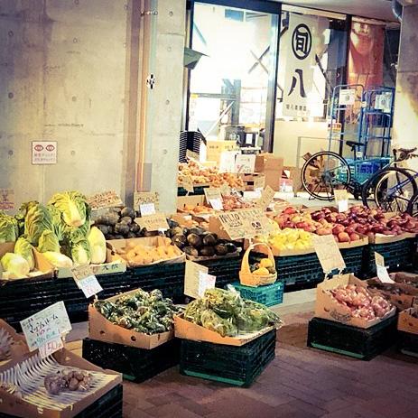 【大崎広小路】旬八青果店/外国のマルシェみたい!買い物がワクワク楽しくなる八百屋さん