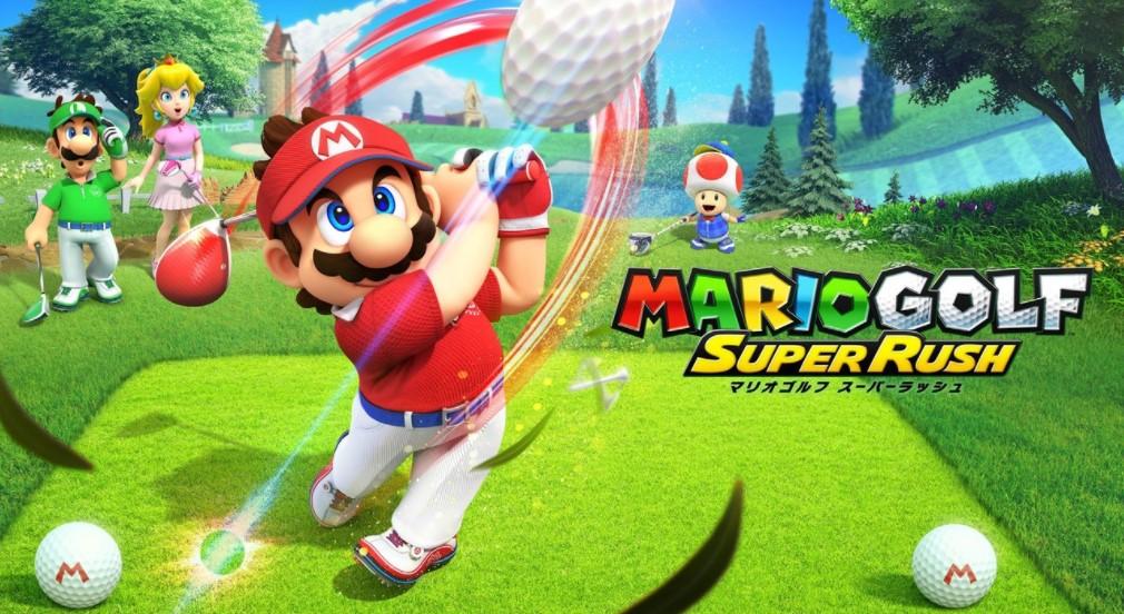 ニンテンドーのスポーツゲームで私が一番好きだった「マリオゴルフ」シリーズが、正当進化「マリオゴルフスーパーラッシュ」に!